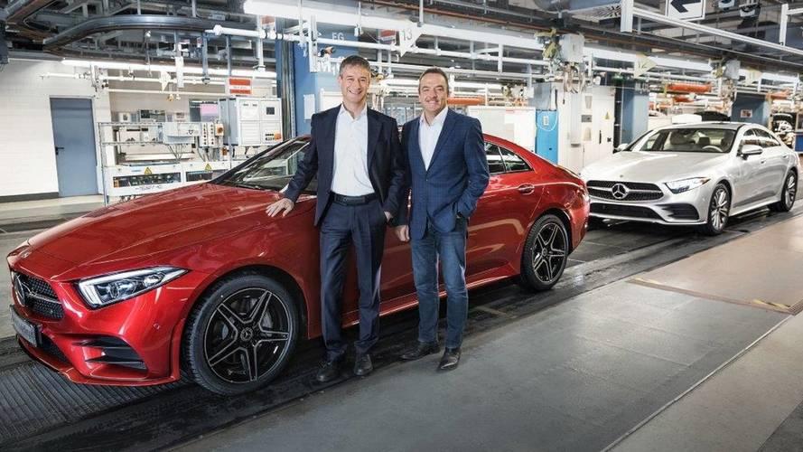 Mercedes CLS'nin üretimi başladı