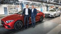 2019 Mercedes CLS production start