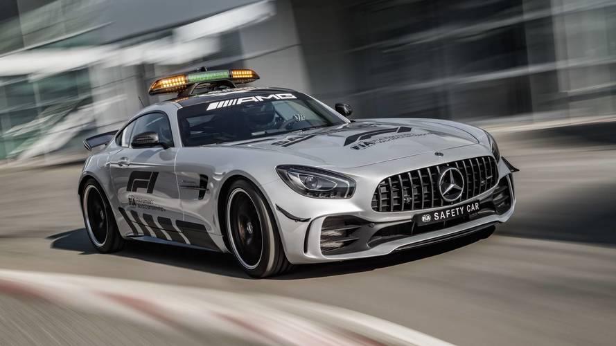 Mercedes-AMG GT R - F1 Biztonsági autó