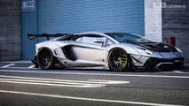 Lamborghini Aventador LW