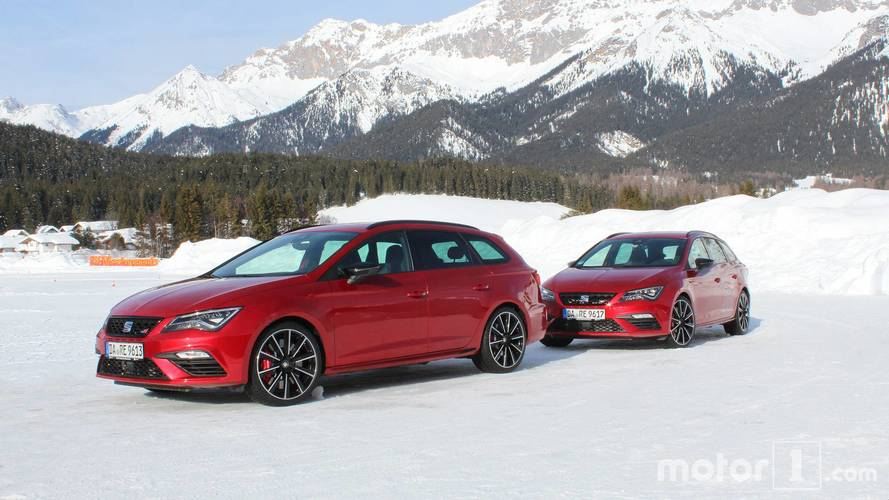 Essai SEAT Snow Experience 2018