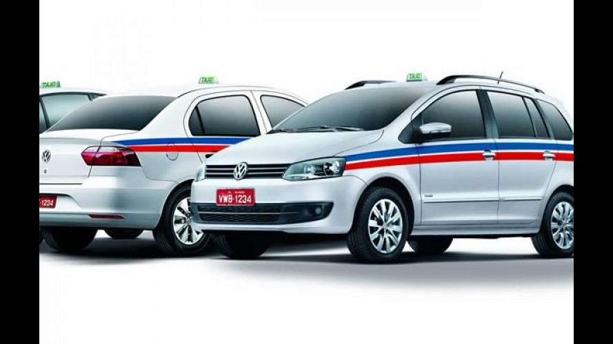 Volkswagen quer bombar vendas a taxistas