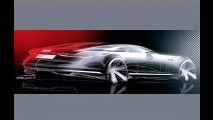 Esboço do Audi A9 Concept surge antes da estreia em Los Angeles