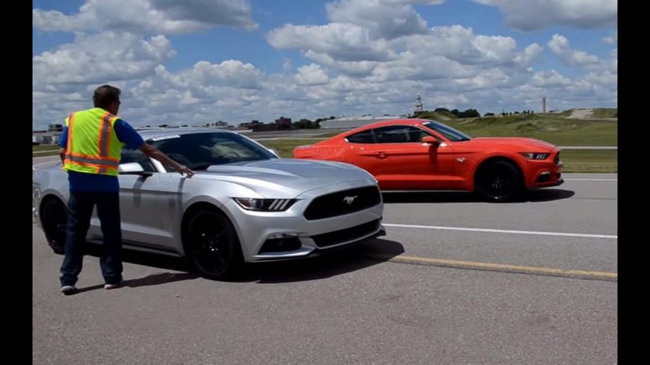 Veja os primeiros vídeos do novo Mustang 2015 em ação