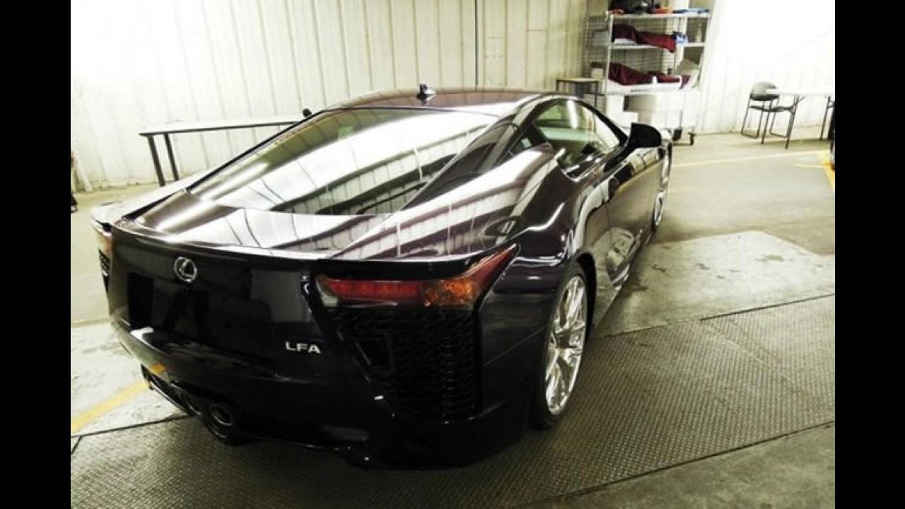 Filho único: Lexus mostra LFA Black Amethyst