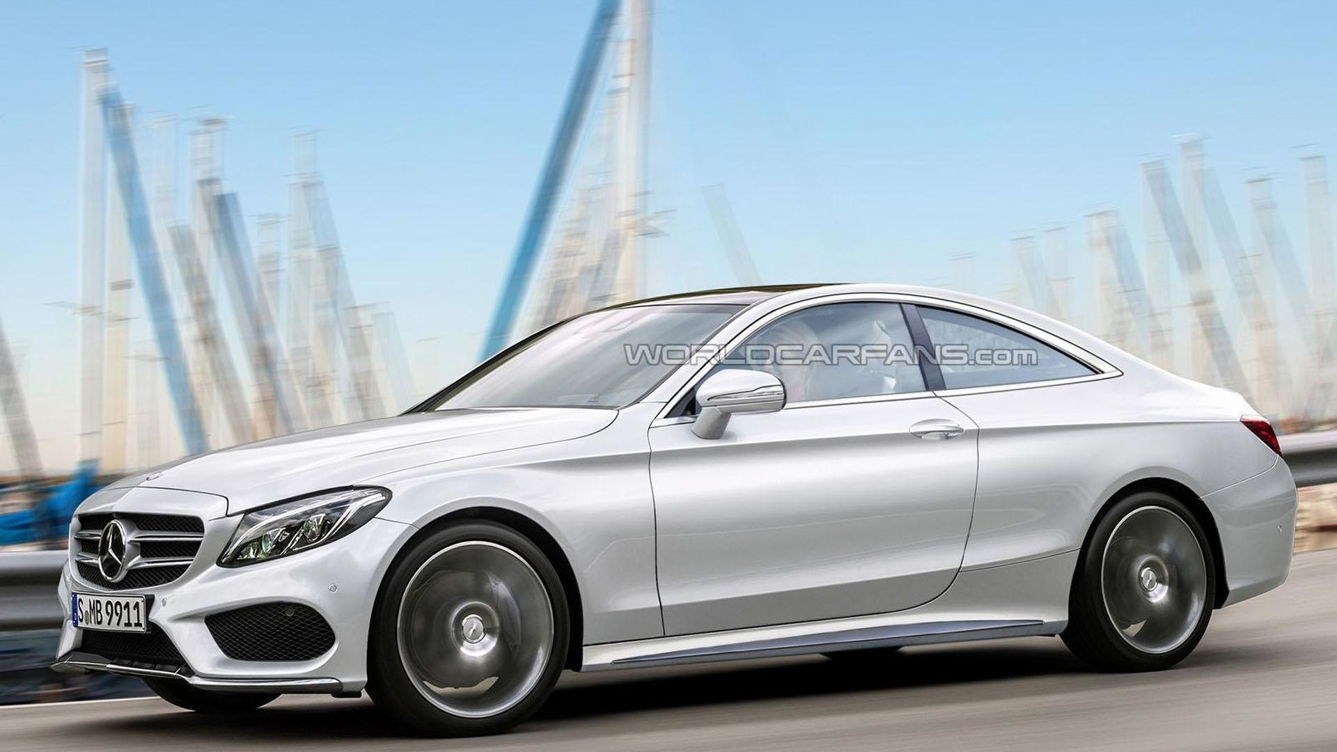 mercedes benz c class coupe to debut in frankfurt. Black Bedroom Furniture Sets. Home Design Ideas