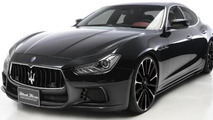 Wald teases Black Bison aero kit for Maserati Ghibli