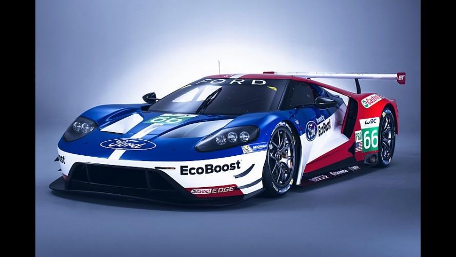 Ford, GT'nin Le Mans'daki 50. zafer yıldönümünü kutluyor