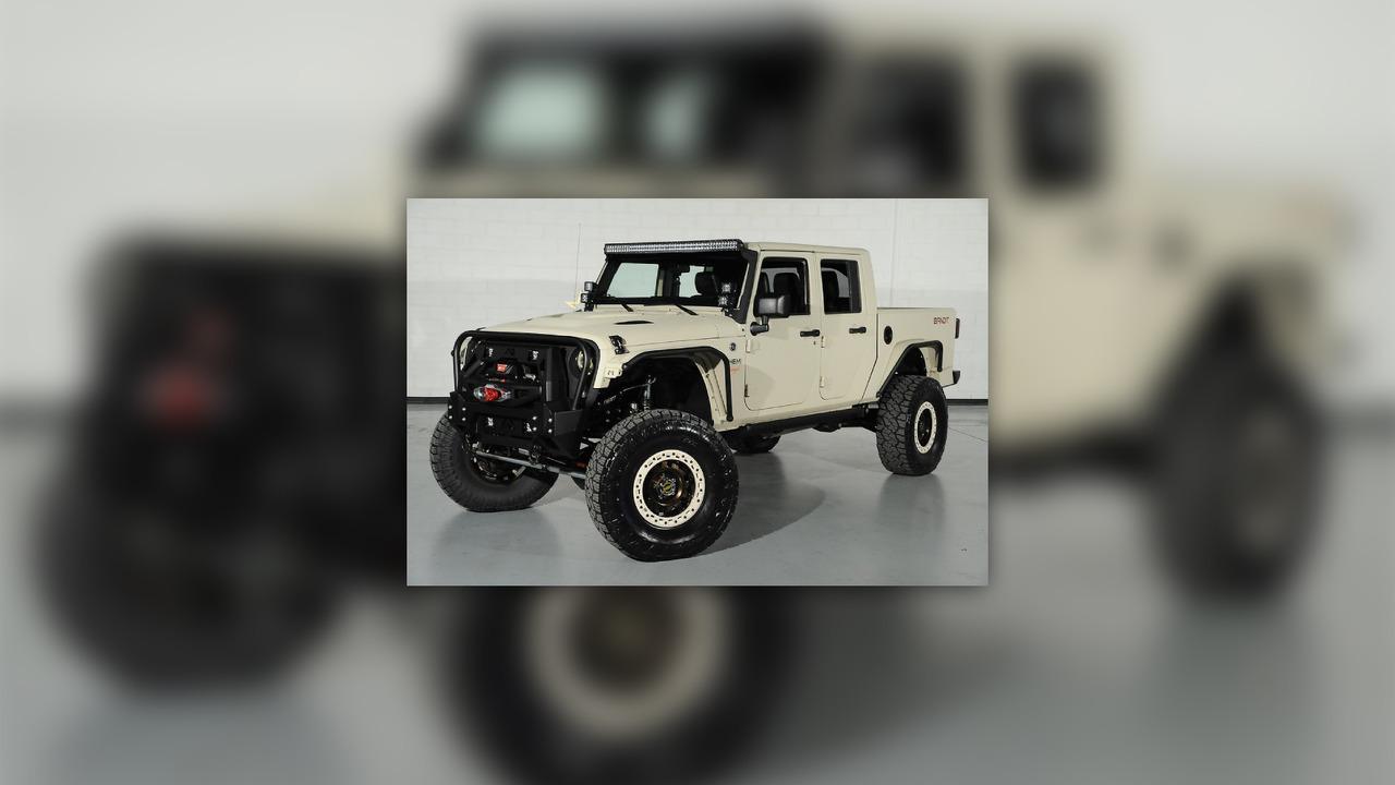 700 Horsepower Jeep Wrangler Bandit Pickup