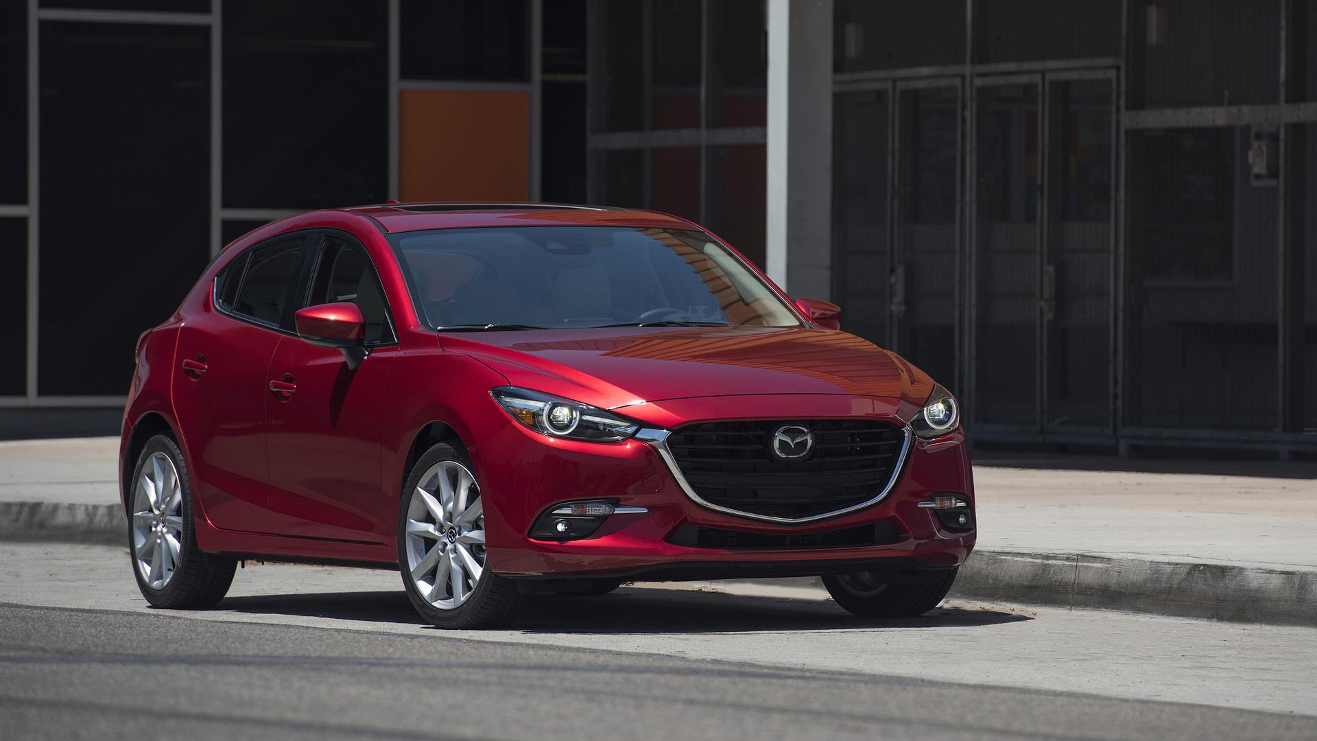 2017 Mazda3 Mazda6 restyled gain more technology