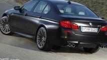 2012 BMW M5 in Frozen Black Hue 23.09.2011