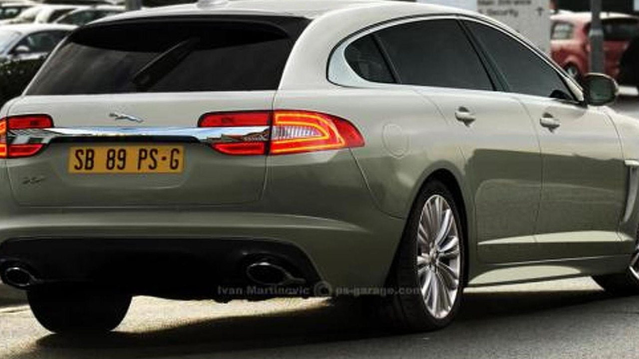 2012 Jaguar XF Sportbrake speculative rendering, 1200, 01.12.2011