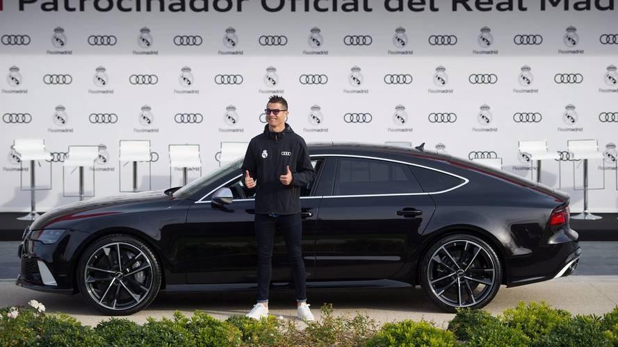 DIAPORAMA - Les joueurs du Real Madrid reçoivent leurs nouvelles Audi