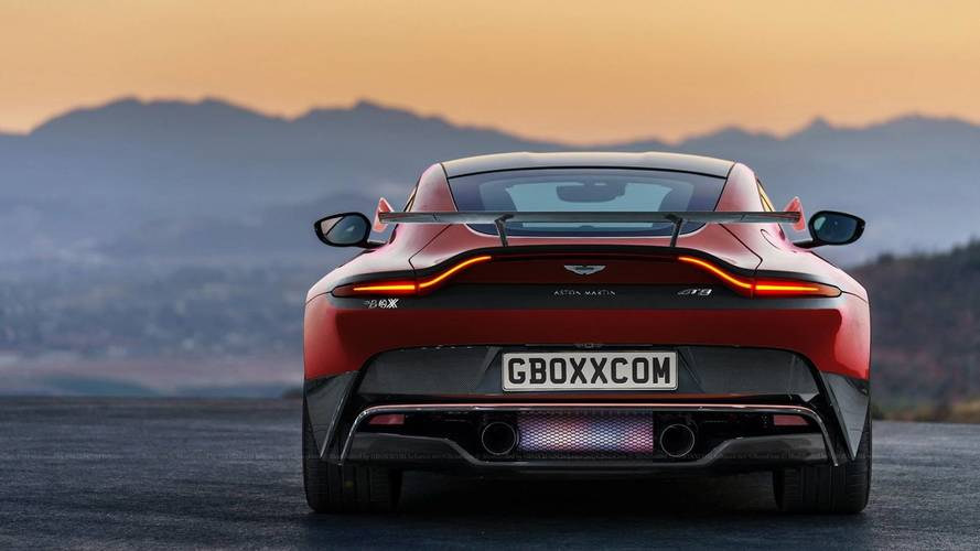 Aston Martin Vantage Shooting Brake, GT Versions Rendered