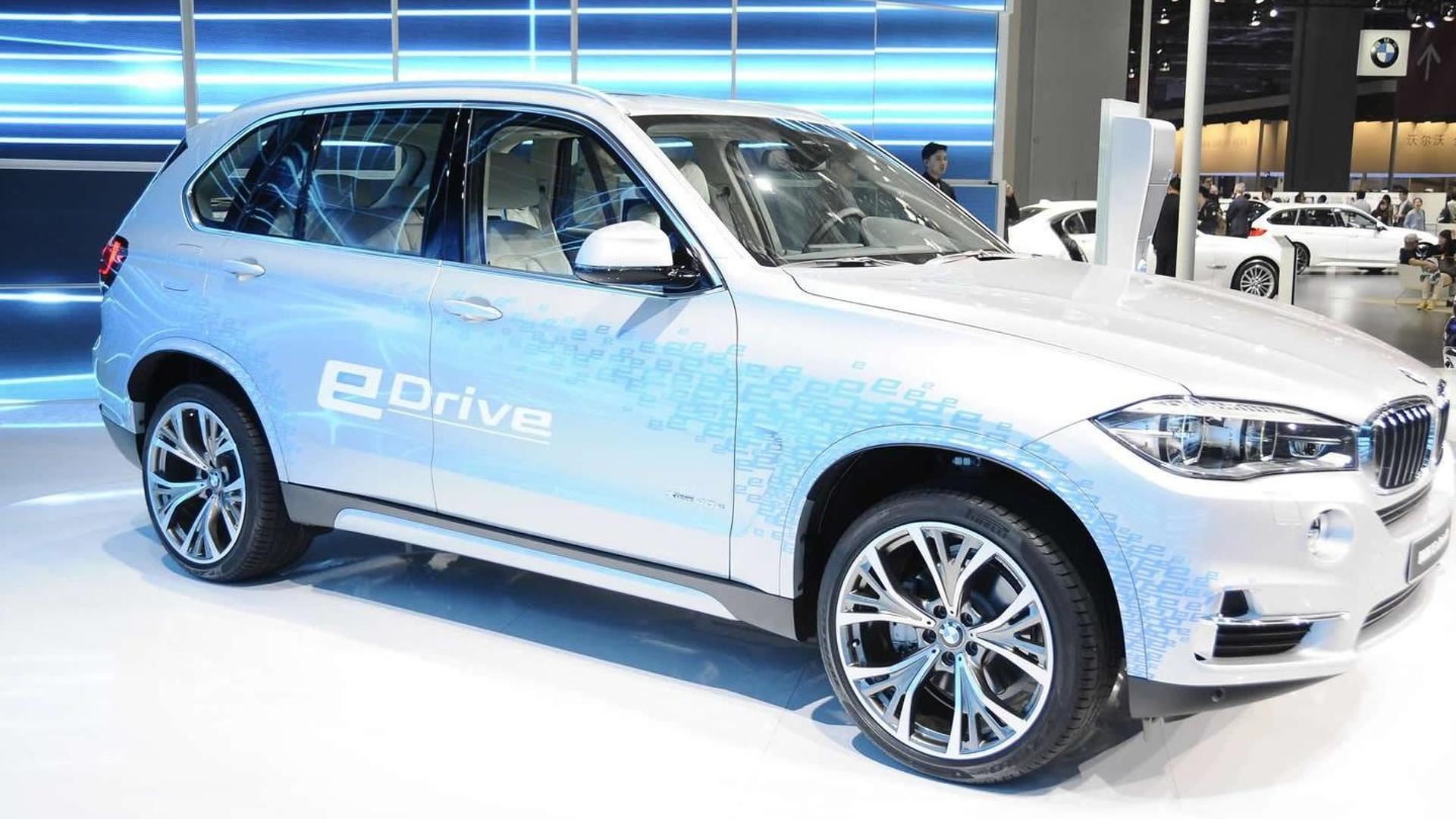 bmw x5 xdrive40e is a plug in hybrid sav in shanghai. Black Bedroom Furniture Sets. Home Design Ideas