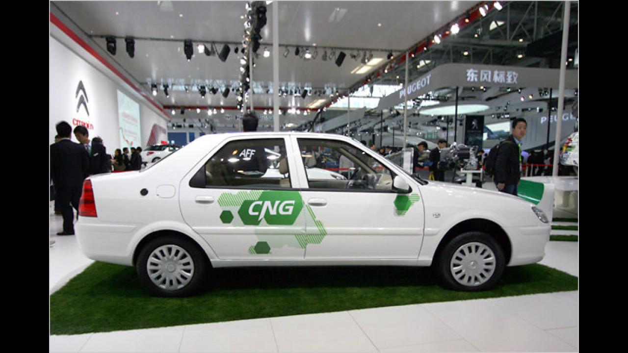 Citroën Elysée CNG