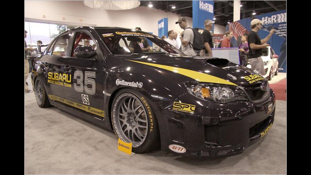 Subaru Impreza WRX STI Road Racing Team