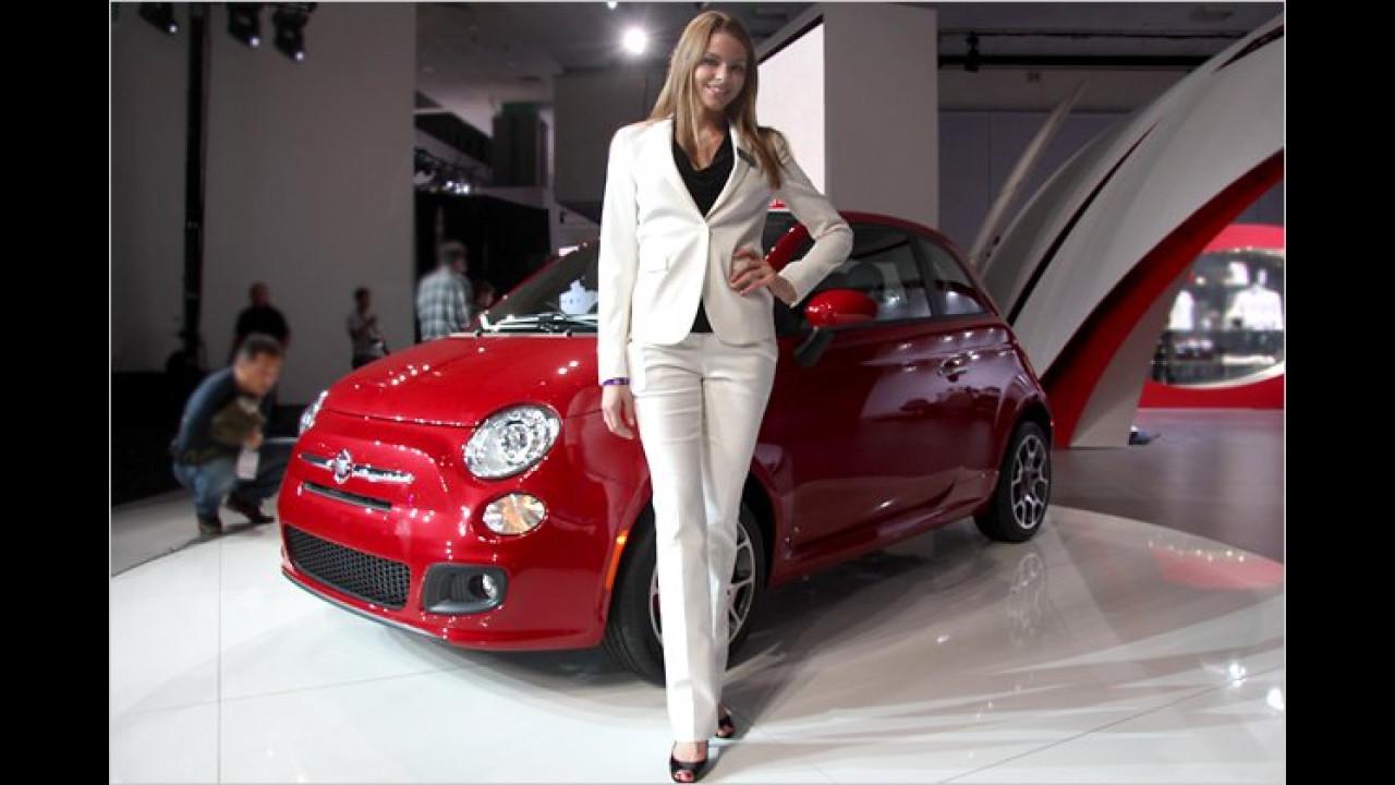 Ah, der Fiat 500 kommt nun auch in die USA ...