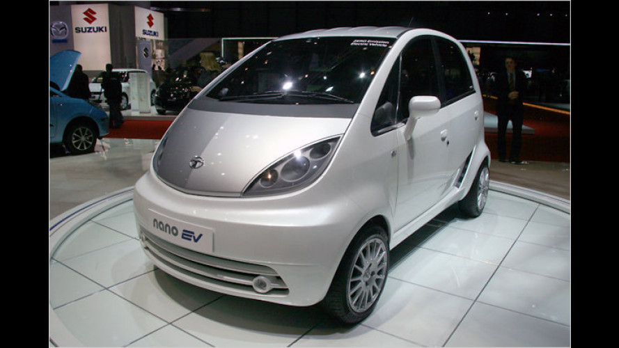 Tata Nano EV: Elektroversion des Billigheimers in Genf