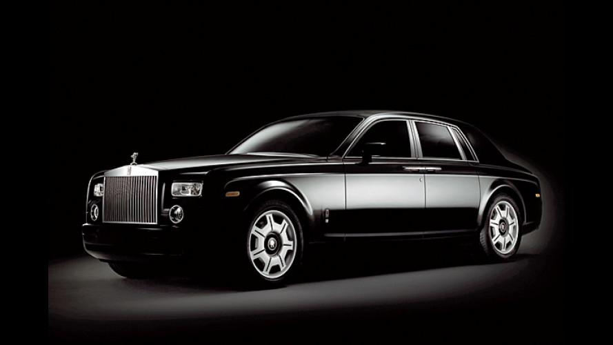 Der schwarze Phantom: Düstere Rolls-Royce-Sonderedition