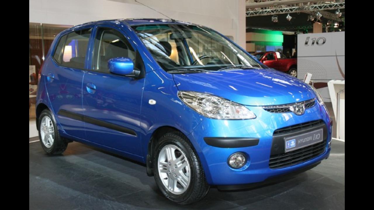Hyundai präsentiert i10