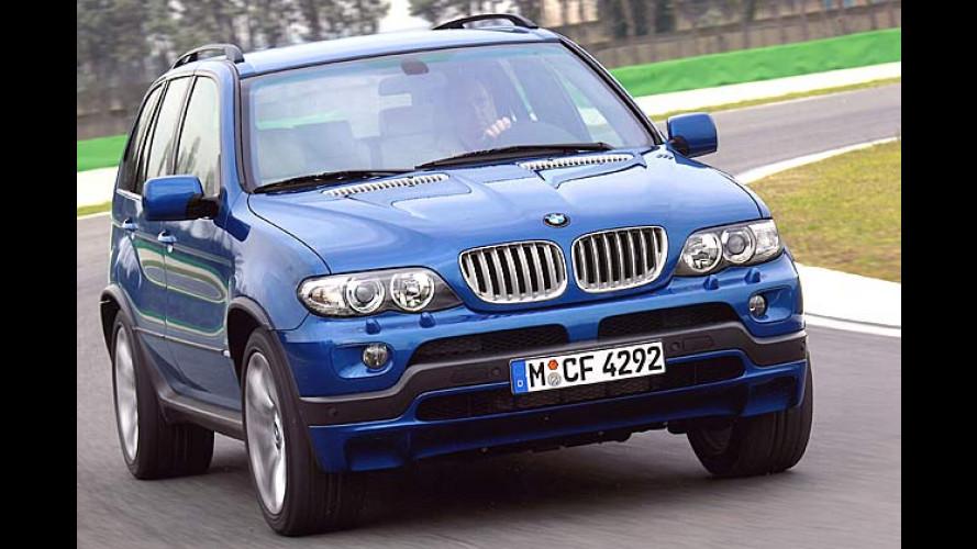 BMW X5 4.8is: Neues Spitzenmodell mit 360 PS kommt