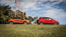 Comparativo Ford EcoSport x Renault Captur