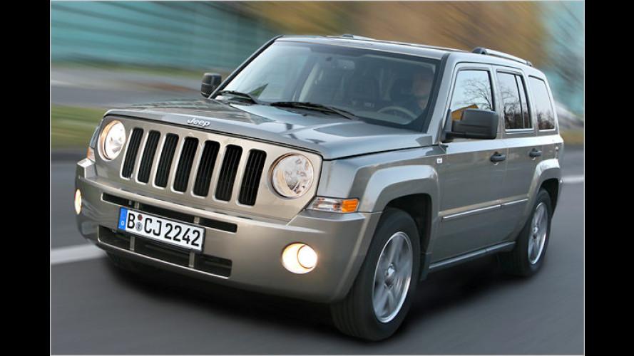 Der neue Jeep Patriot: Ab sofort bei den Händlern verfügbar