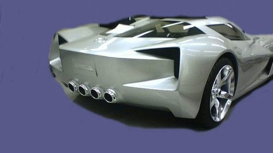 Two New Shots of Transformers Film Mystery Corvette Concept