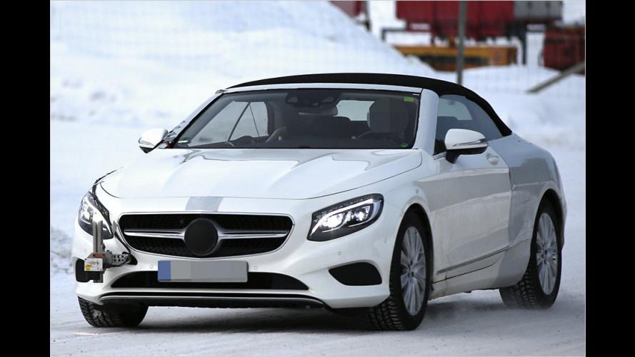 Erwischt: Mercedes S-Klasse Cabriolet