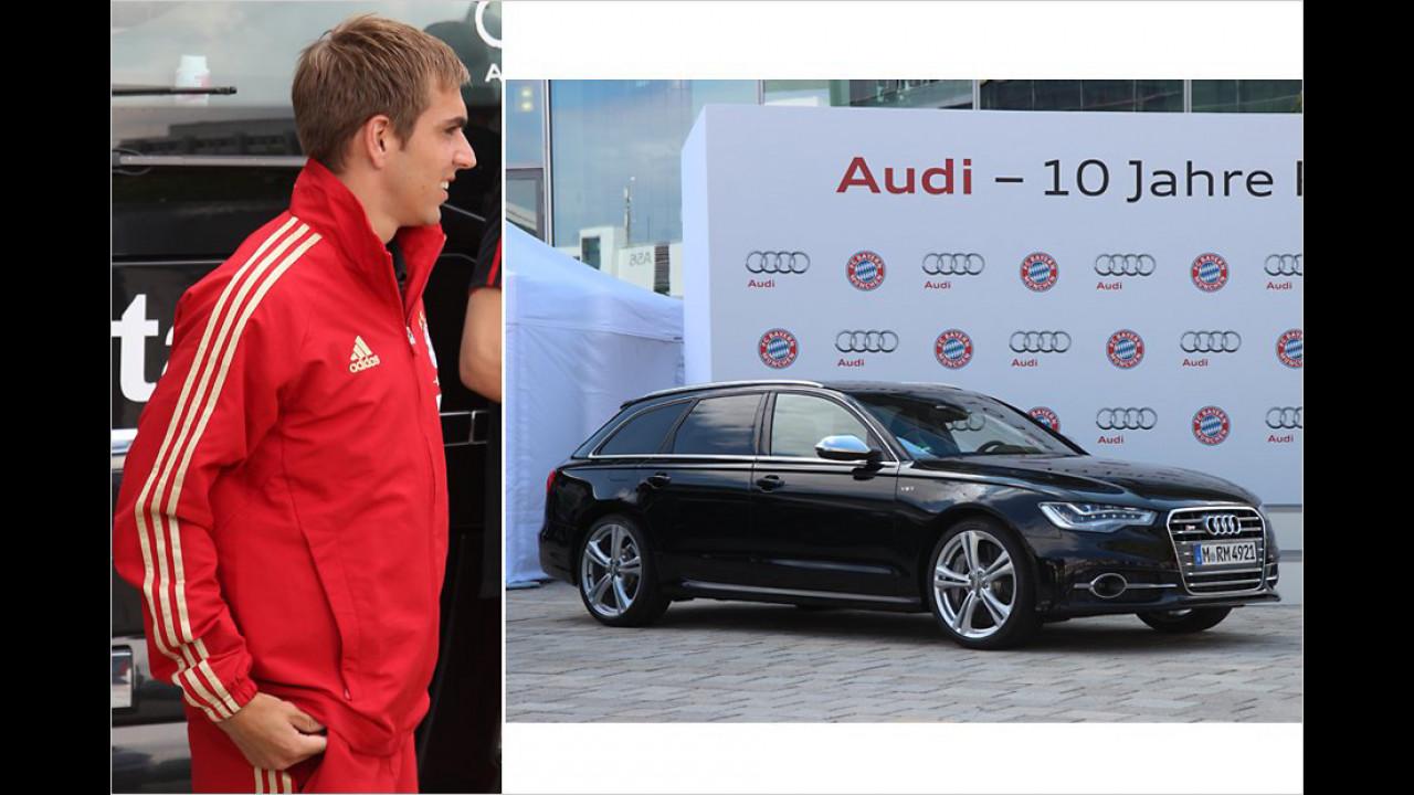Philipp Lahm: Audi S6 Avant
