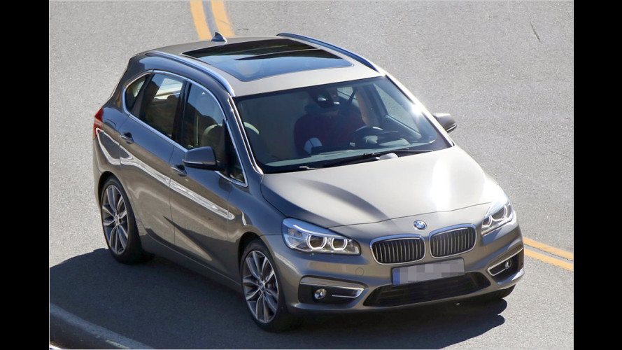 Erwischt: BMW 2er Active Tourer