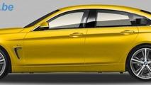 BMW 4-Series GranCoupe render