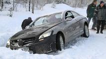 2012 Mercedes-Benz ML-Class rescue spy photos - 25.01.2010