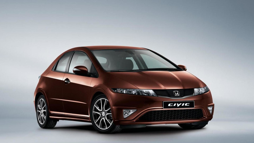 Honda Civic updated for the UK