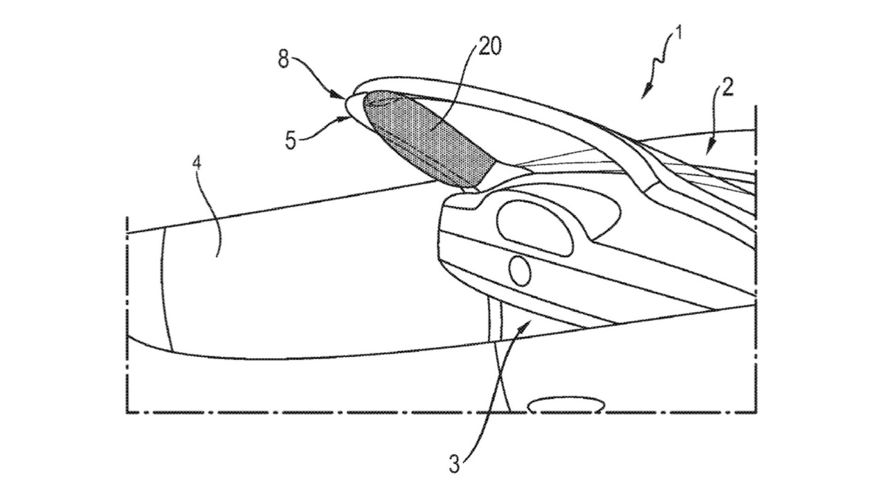 Porsche Airbag Patent