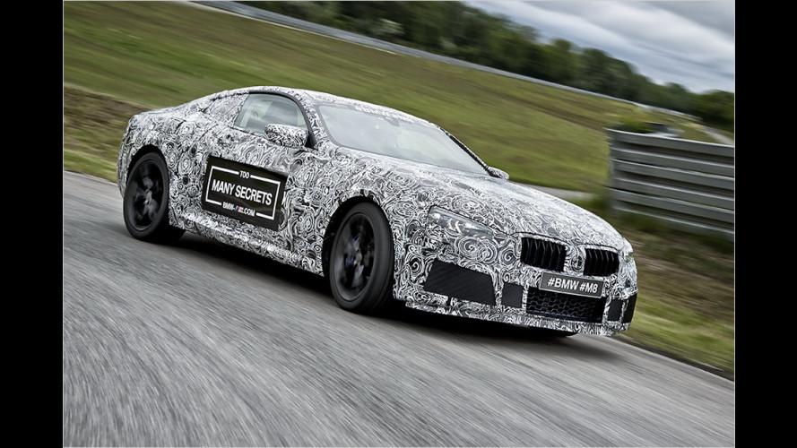 Erste Erlkönigbilder von der Sportversion des BMW 8er