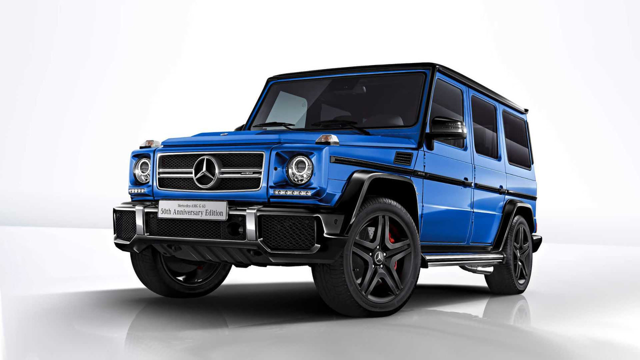 Mercedes G63 50th Anniversary