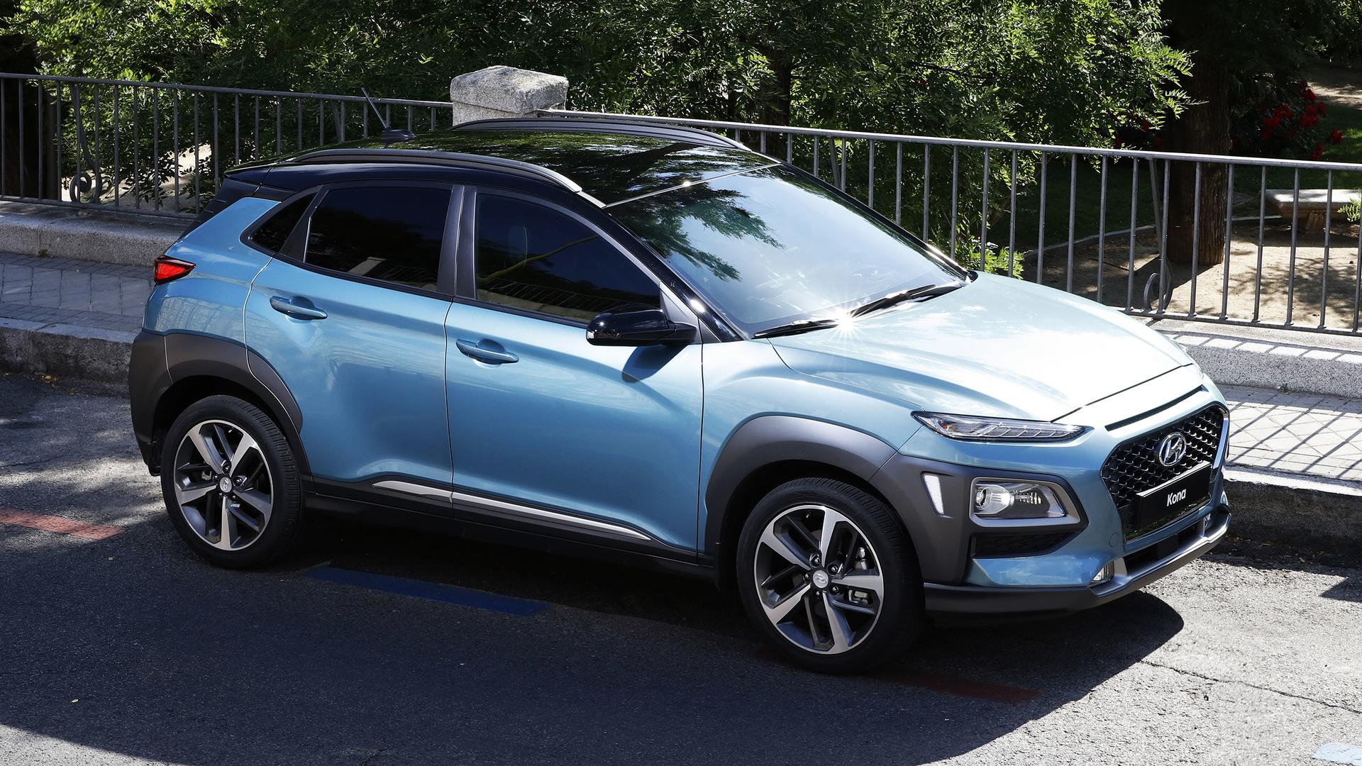 hyundai kona ev could rival chevy bolt with 240 mile range. Black Bedroom Furniture Sets. Home Design Ideas