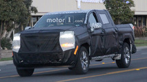 Next-gen Chevrolet Silverado 1500 Spy Photos
