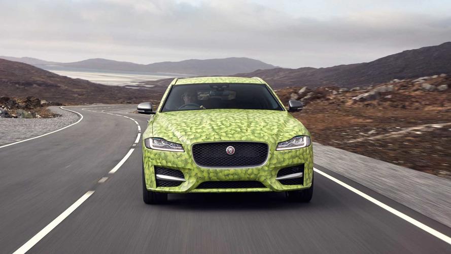 Jaguar Gave Its XF Sportbrake A Ballsy New Look
