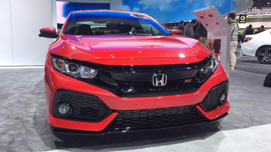 Novo Honda Civic Si aparece em Detroit com motor 1.5 turbo