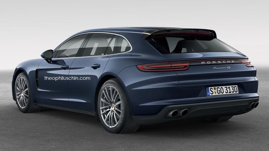 2018 Porsche Panamera Sport Turismo tasarım yorumları