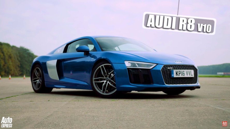Audi R8 versus Mercedes-AMG GT S