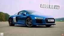 Audi R8 Mercedes-AMG GT S race