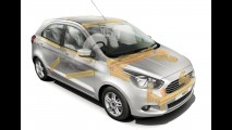 Novo Ford Ka chega a Europa mais refinado e com motor 1.2