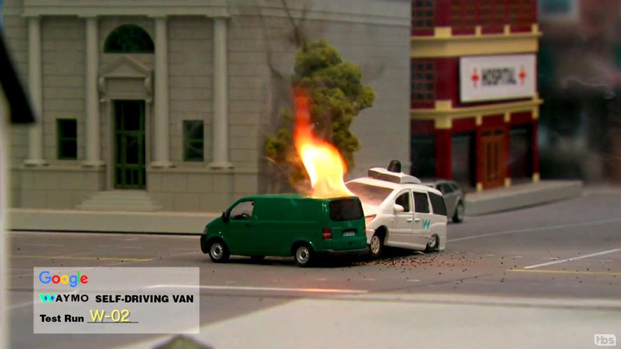 Conan O'Brien Waymo Chrysler Pacifica Video