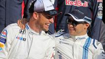 Button et Massa