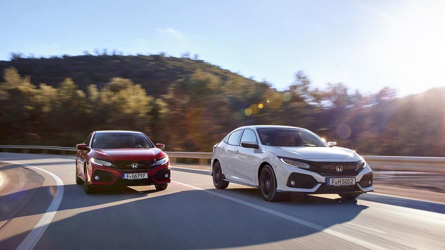Honda Civic 2017, primera prueba