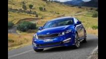 CORÉIA DO SUL, setembro: Hyundai Avante (Elantra) lidera e Kia K5 (Optima) encosta no rival Sonata